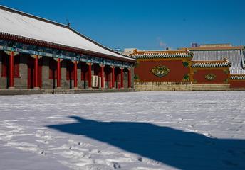 哈苏雪后故宫