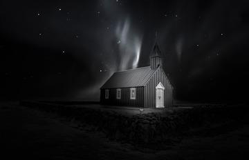冰岛黑教堂