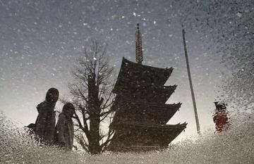 下雪了......