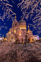 圣索菲亚大教堂的春天