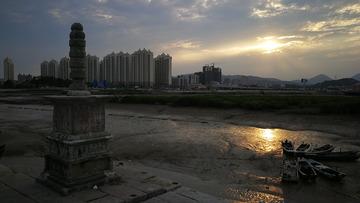 洛阳桥夕阳景观