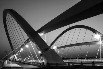 泥江湖桥夜色