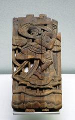 木雕女伎乐,西夏,宁夏银川西夏博物馆文物。