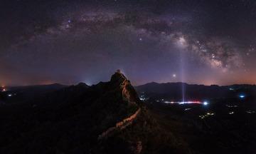 司马台望京楼银河拱桥