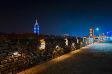 中华门城堡夜色+南京