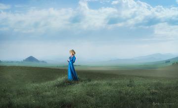 草原像一个梦