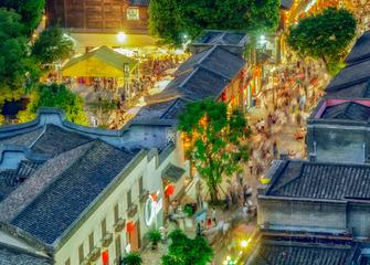 《国庆节的三坊七巷》