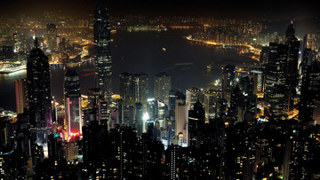 HK Night View @ Peak