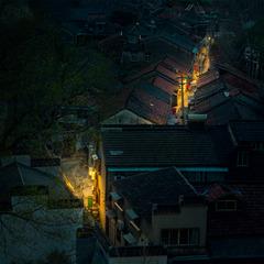 暗夜城南小巷