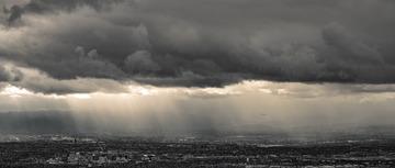San Jose under the dark cloud